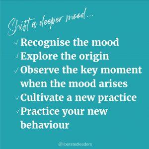 Shift a negative mood