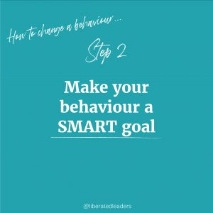 How to change a behaviour