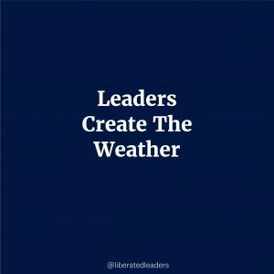 Leaders create the mood